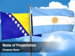 Flag bosnia herzegovina argentine flag,