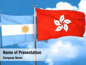 Hong argentina flag kong flag,