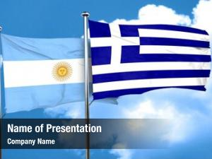 Greece argentina flag flag,