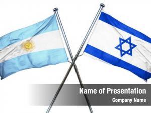 Israel argentina flag flag,