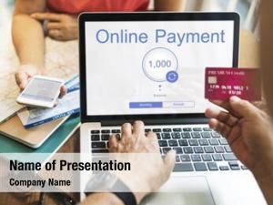 E shopping internet online banking