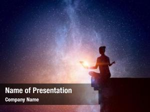 Starry spiritual yoga physical