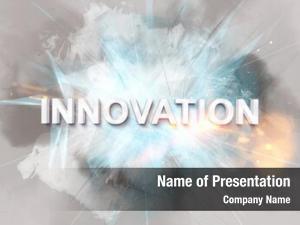 Text intense innovation logo rendered