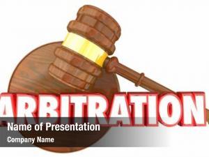 Gavel arbitration judge court legal
