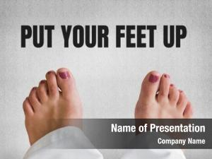 Put digital composite your feet
