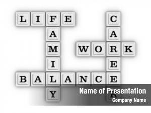 Balance life work crossword puzzle