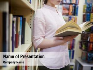 Adolescent student powerpoint background