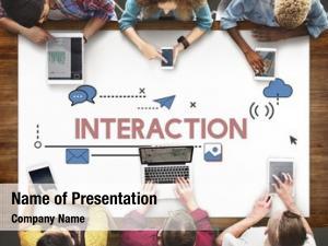 Digital tablet interaction digital community