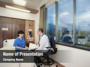 Hospital doctor powerpoint background