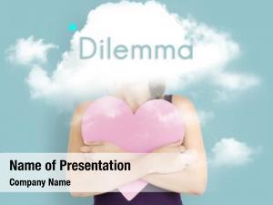 Dilemma cloud hidden depression bliss