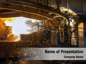 500 Steel Industry Powerpoint Templates Powerpoint Backgrounds For Steel Industry Presentation