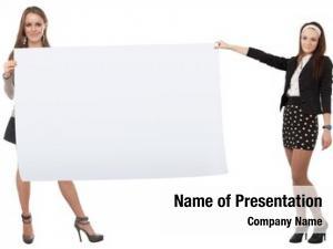 List girls empty paper their