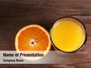 Juice glass orange fresh orange