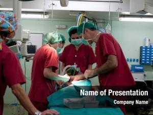 Performing medical team pediatric surgery