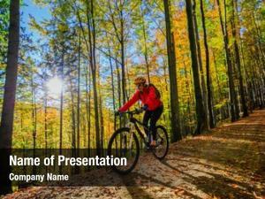 Biking cycling, mountain woman cycle
