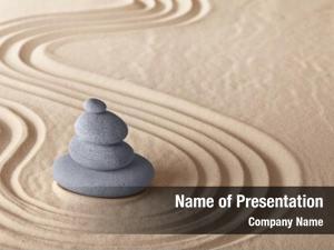 Meditation zen garden stone meditation