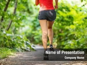 Legs runner running back jogging