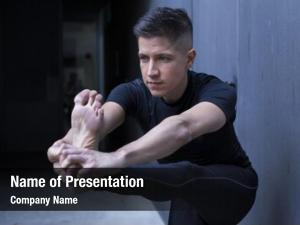 Teacher cool yoga practicing yoga