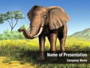 Its wildlife: elephant native african