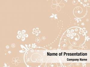 Card pastel floral