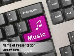 Music computer keyboard key, technology