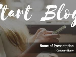 Blogging start blog content information