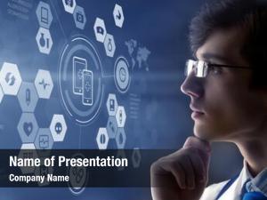 Technologies modern medical concept