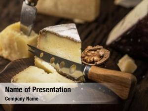 Goat piece homemade cheese cheese
