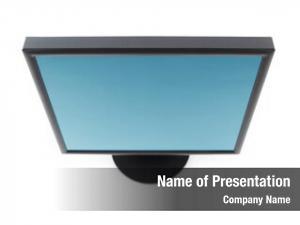 Flat computer lcd panel monitor