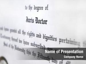 Doctorate close juris law degree