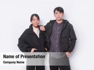 Couple: fashion young woman fashion