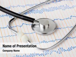 Medical stethoscope ecg