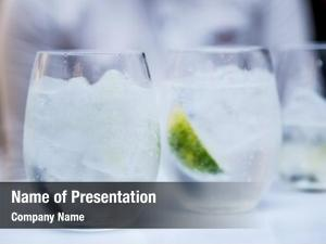 Cocktail glasses martini