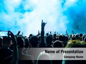 Rock concert audience concert