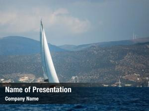 Yacht greece sailing boat aegean