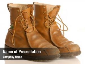Boots worn work safety boots