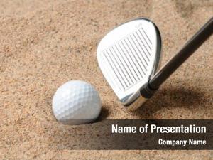 Trap golf ball sand wedge