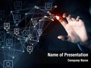 Net presenting social concept