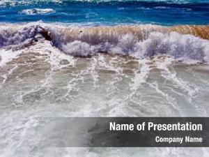 Waves aerial ocean atlantic ocean