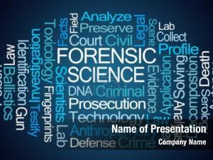 Forensic word cloud
