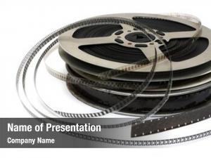 Movie stack old films metal