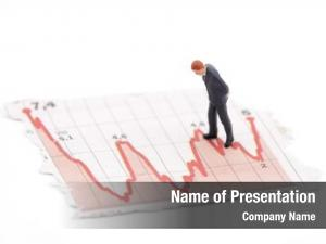 Financial figure businessman charts