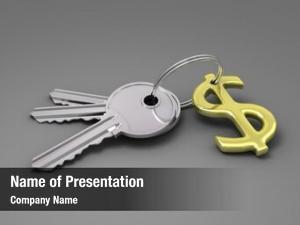 Key and dollar