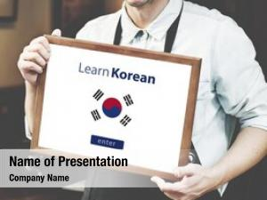 Language learn korean online education