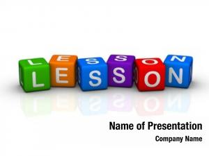 Colorful lesson (buzzword cubes series)
