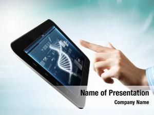 Abstract dna helix tablet screen