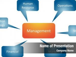 Business management branches strategy concept