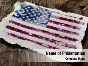 States flag united aged
