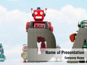 Data word big retro toy