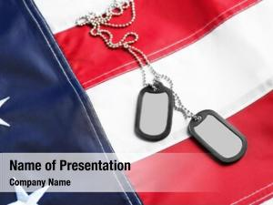 American army tokens national flag